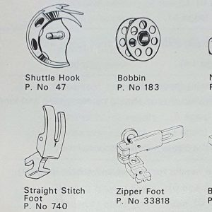 Sewing Machine Parts (Industrial & Domestic)