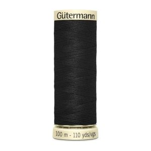 in2sewingmachines | Industrial and Domestic Sewing Machines & Accessories | Haberdashery | Gütermann Sew All Thread - Black - 100m
